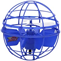 Soar to new heights with the Air Hogs Atmosphere! This powerful levitating sphere requires no remote control and hovers above any surface! Its spherical shape allows the Atmosphere to smoothly bounce off walls and ceilings for non-stop flight...