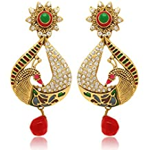 Donna Metal Gold color Dangle & Drop Earrings For Women