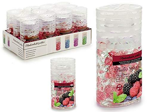 Dream Hogar Ambientador Bolas Gel Pack x2 Frutos Rojos 400gr 6,5x8,5x16 cm