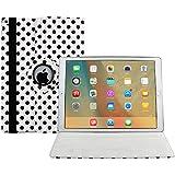 iPad Pro 12.9 Funda, Avril Tian 360 Grados Rotación Multi ángulos Protector de Pantalla Flip Magnético Inteligente Case Cover para Apple iPad Pro 12.9 pulgada Tableta