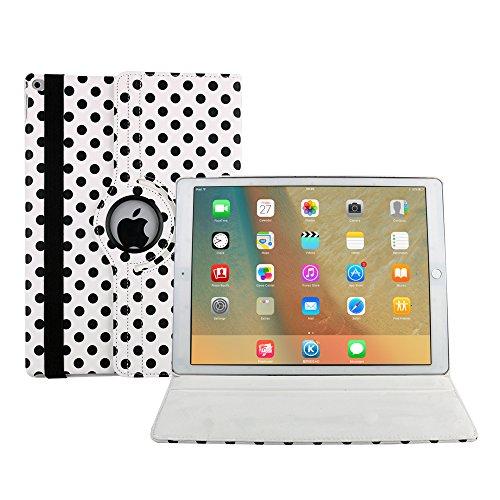 Preisvergleich Produktbild iPad Air 2 hülle, Avril Tian 360 Grad Drehbar Multi Winkel Bildschirm Schutz Flip Folio Magnetisch Stand Smart Schutzhülle Case Cover für Apple iPad Air 2 9.7 Zoll Tablette