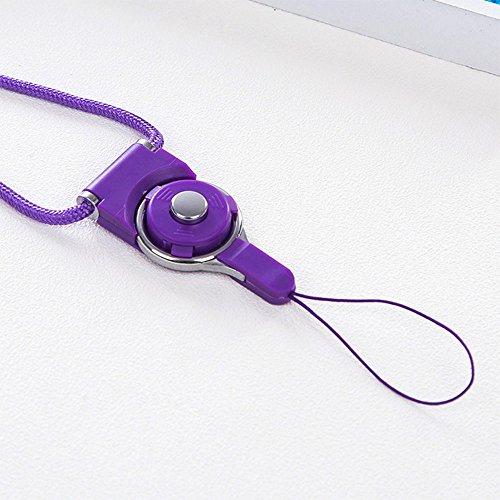 Daycount Handschlaufe/Schlüsselband für Handy, 5 Stück Length: 48cm/ 19'' violett