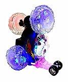 Dimei XL RC Überschlag Auto mit Fernbedienung Spielzeug Car Stuntauto Buggy Stuntcar LED Jungs Mädchen