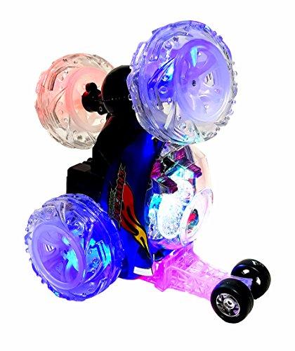 Led-lichter 9v Rc (Ferngesteuerter XL LED RC Radio Control Überschlag Stunt Auto Car Stuntauto Buggy Spielzeugauto Spielzeug Stuntcar Akku Fernbedienung)