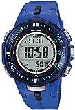 Casio Pro Trek Tough Solar PRW-3000-2BER Reloj radiocontrolado para hombres Alímetro, Barómetro, termómetro, brújula