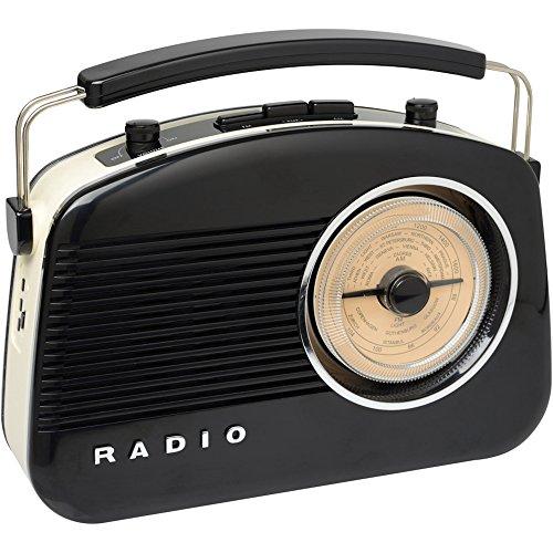 Radio 60 negro Bluetooth