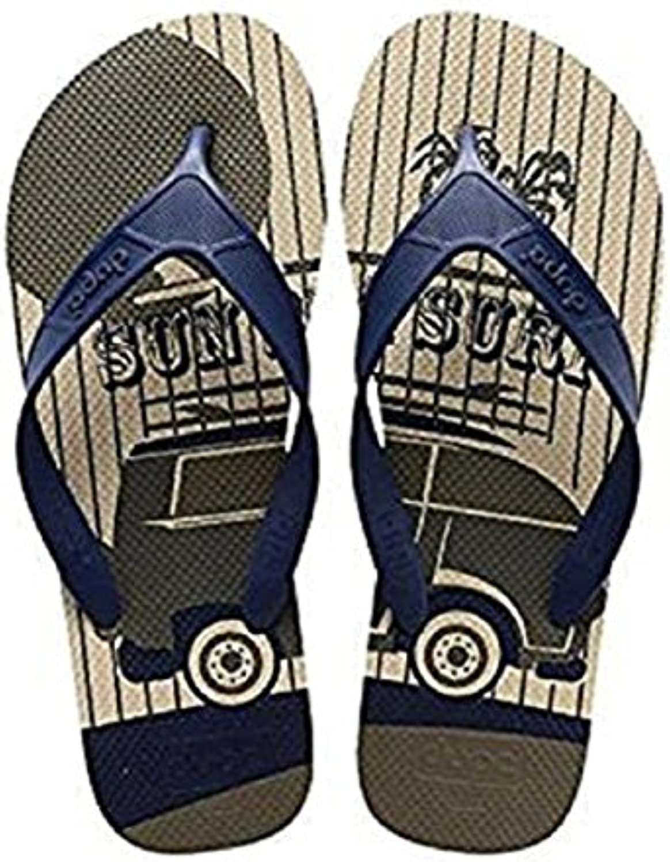 Dupè - Sandalias de Caucho para Hombre Beige Arena