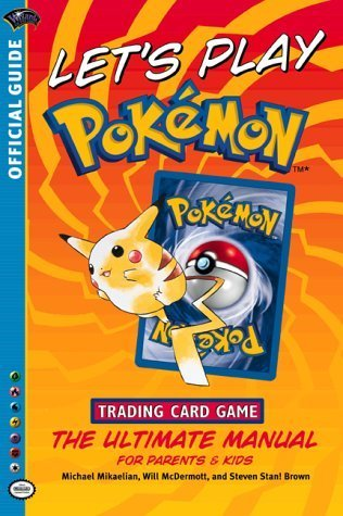 Let's Play Pokemon! (Official Pokemon Guides) by Wizards Of The Coast, Brown (2002) Paperback