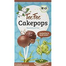 TeeFee Bio Früchtetee mit Cakepop Geschmack, 5er Pack ( 5 x 20 Teebeutel à 2g), zuckerfrei und ohne Kalorien, Nachtisch-Tee