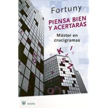 Piensa bien y acertaras/ Think well and get right: Master En Crucigramas