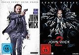 John Wick 1+2 / DVD Set (Teil 1+2,Kapitel 1+2)