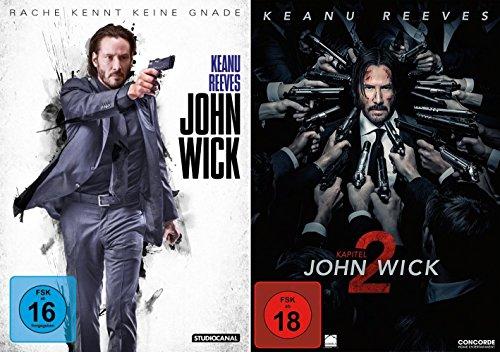 Bild von John Wick 1+2 / DVD Set (Teil 1+2,Kapitel 1+2)