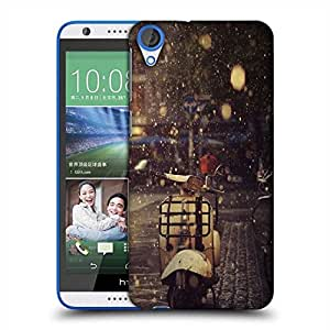 Snoogg Scooter rains Designer Protective Back Case Cover For HTC Desire 820