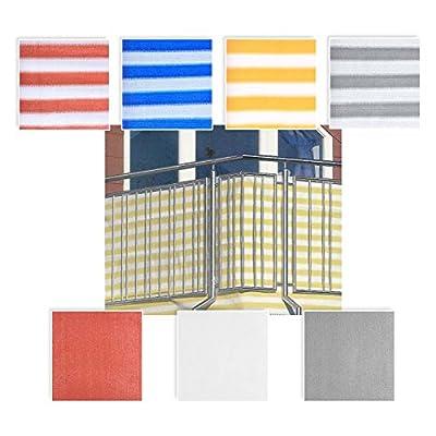 Balkon Sichtschutz 0,90 x 5m in Verschiedenen Farben
