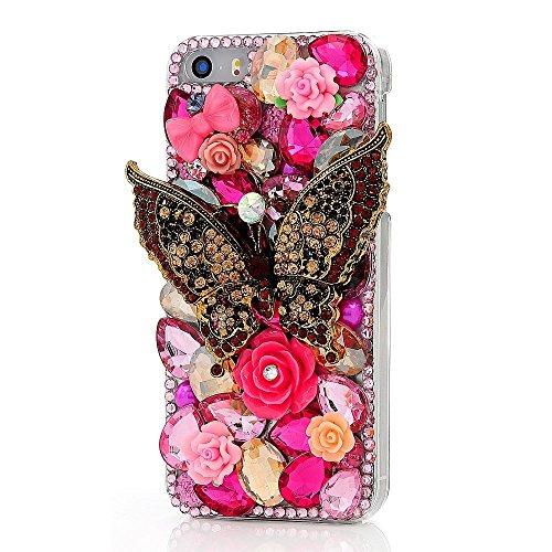 Spritech (TM) 3d diamante donne iPod touch 6caso luxux progetto di moda fatti a mano duro continuità Caver iPod Touch 6, A33, Ipod Touch 6