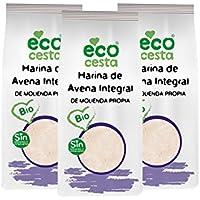 Ecocesta Harina de Avena Integral - Paquete de 3 x 500 gr - Total: 1500