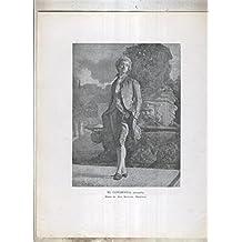 Mariano Fortuny numerado 06: El condesito, acuarela