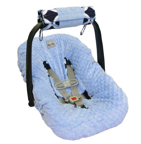 itzy-ritzy-cuscino-avvolgibile-per-manico-navicella-passeggino-reversibile-in-tappetino-da-gioco-blu