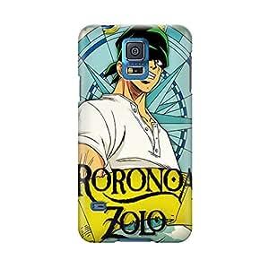 s50659brillant One Piece Zoro Roronoa Coque pour Samsung Galaxy S5