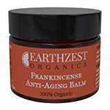 Anti Aging Night and Day Cream For Women - 100% Organic - Best For Dry, Sensitive or Mature Skin - As Used By MyAnna Buring - This Anti Wrinkle Frankincense Balm is Great for Firming and Plumping Your Face, Neck & Decollete During Sleep, But Equally Great As All Natural Brightening Anti Ageing and Hydrating Daily Moisturiser Base - Ideal Gift - Highly Concentrated, Effective and Long Lasting Skincare - Handmade in Britain by Earthzest Organics - 50ml Travel Size