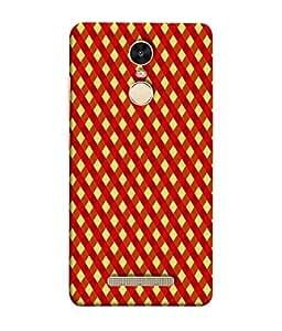 PrintVisa Designer Back Case Cover for Xiaomi Redmi Note 3 :: Xiaomi Redmi Note 3 Pro :: Xiaomi Redmi Note 3 MediaTek (Mesh Cross Check Window Door)