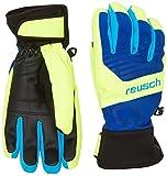 Reusch Herren Handschuhe Torbenius R-TEX XT, blau/Neongelb, 9