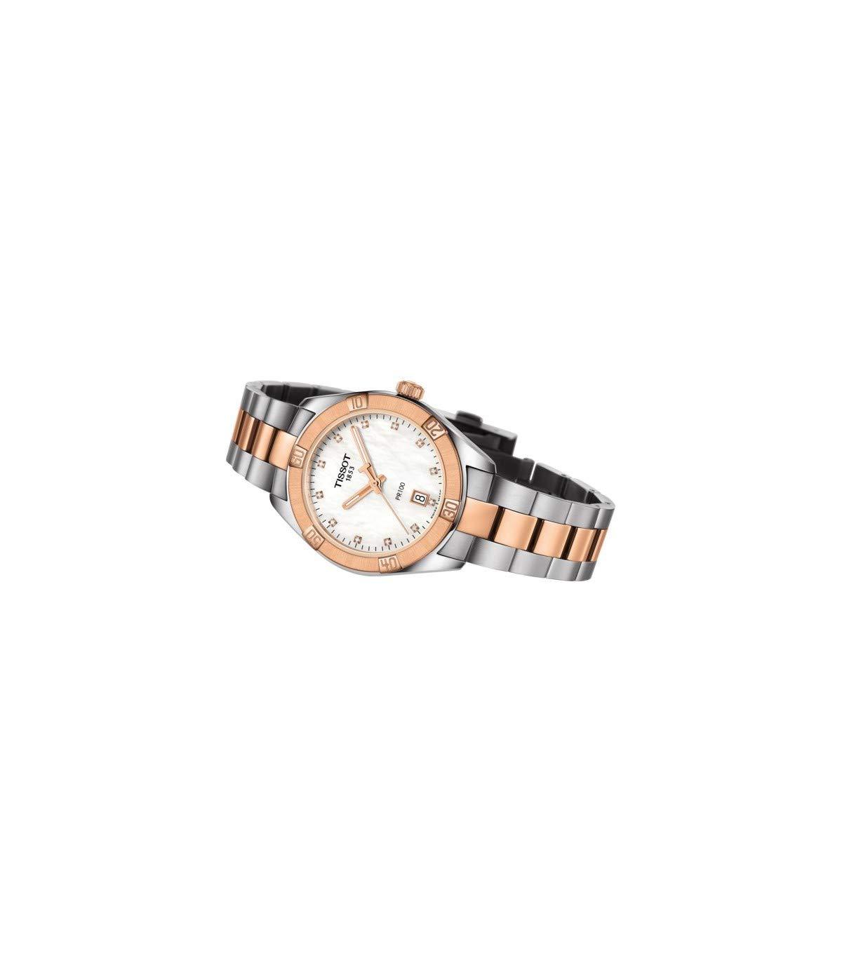 Tissot PR100 SPORT CHIC T101.910.22.116.00 Reloj de Pulsera para mujeres