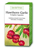 Jan de Vries Hawthorn-Garlic Complex 90 Capsules from A. Vogel