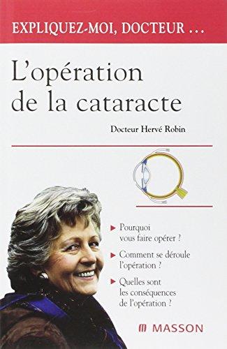 L'opération de la cataracte: POD
