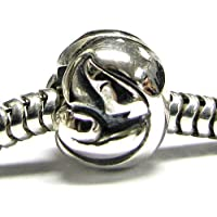 Queenberry Mother Baby in argento Sterling, motivo: Family Love Forever,