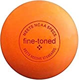 LACROSSE BALL FOR TRIGGER POINT MASSAGE- FINE-TONED elite pro® plus MASSAGE EXERCISE INSTRUCTIONS CHART crossfit, rehab, physiotherapy - meets full NCAA specifications
