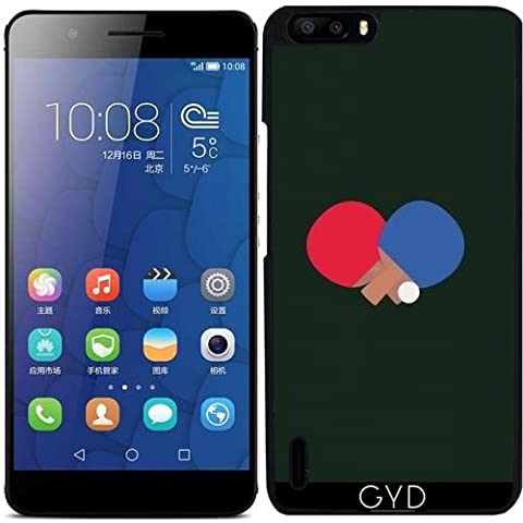 Custodia per Huawei Honor 6 Plus - Ping-pong E Palla Bat by ilovecotton