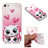 Carols Coque iPod Touch 6 / Touch 5, iPod Touch 6 / Touch 5 Étui TPU Silicone Souple Coque iPod Touch 6 / Touch 5 - Lapin d'amour