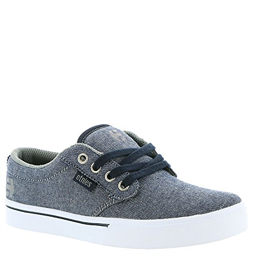 Etnies Unisex-Kinder Kids Jameson 2 Eco Skateboardschuhe, Schwarz, Pointure Navy/grey/white