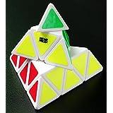 Fire Loli 1 X New. Moyu Pyraminx Speed Cube White classic