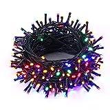 NEXVIN Guirlande Lumineuse Electrique 20M 200 LED Lumière Noël Décorative pour Décoration Noël, Halloween, Sapin, Chambre Intérieure, Mariage - Multicolore