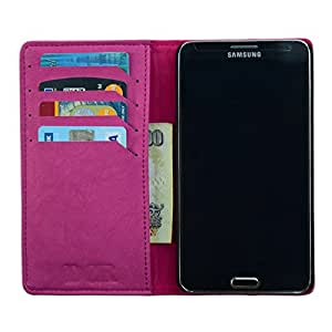 DCR PU Leather Flip Case Cover For Samsung Galaxy S4