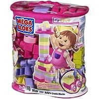 Mega Bloks 80 pc Building Bloks Bag Trendy Colours