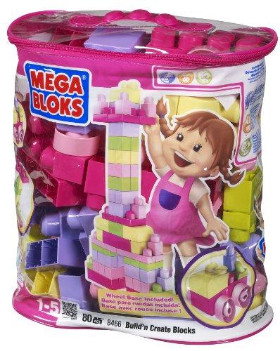 Mega Bloks 57-8466 Bolsa Maxi 80 Rosa