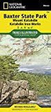 Baxter State Park [Mount Katahdin, Katahdin Iron Works] (National Geographic Trails Illustrated Map) by National Geographic Maps - Trails Illustrated (2011-06-06)