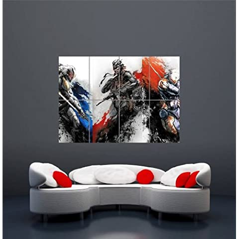 XBOX ONE PS3 PS4 PC GAME METAL GEAR SOLID GIANT NEW ART PRINT AFICHE CARTEL IMPRIMIR CARTELLO POSTER OZ1229