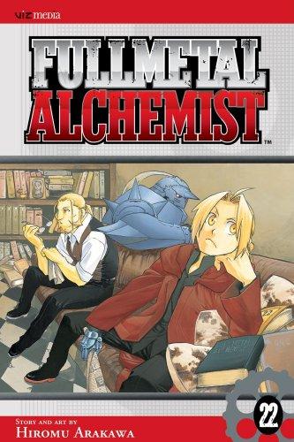 Fullmetal Alchemist, Vol. 22 Cover Image
