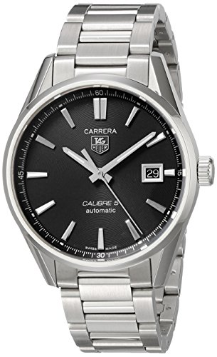 TAG Heuer Men's Analog Automatic Watch with Stainless-Steel Strap WAR211A.BA0782