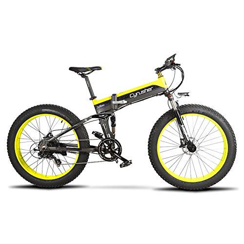 Faltendes Electric Fahrrad XF690 500W-volle Suspendierung 7