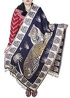 indio animales con dibujos hechos a mano bufanda stole- accesorio de moda ...