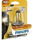 Philips 12636BW Vision Moto HS1 Motorrad-Scheinwerferlampe, 1er Blister