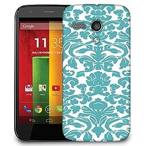 Snoogg Motif Print Designer Protective Phone Back Case Cover For Motorola G / Moto G