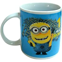 "Minions - Taza regular ""1 in a Minion"" de 320 ml, color azul (United Labels 811755)"