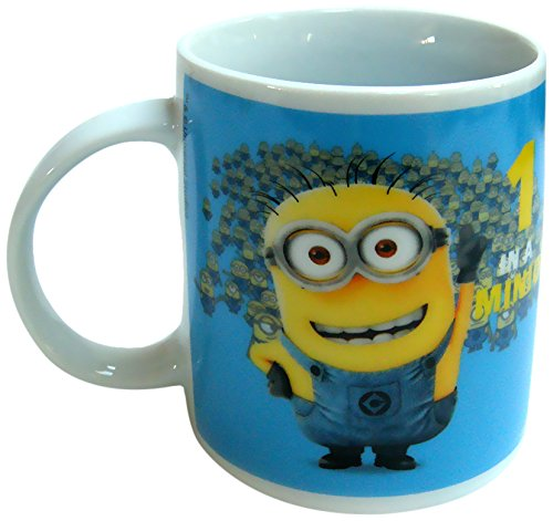 "Minions – Taza ""1 in a Minion"" de 320 ml, color azul"