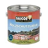 Saicos 0050 501 Holzschutzlasur saphirblau 2.5 Liter